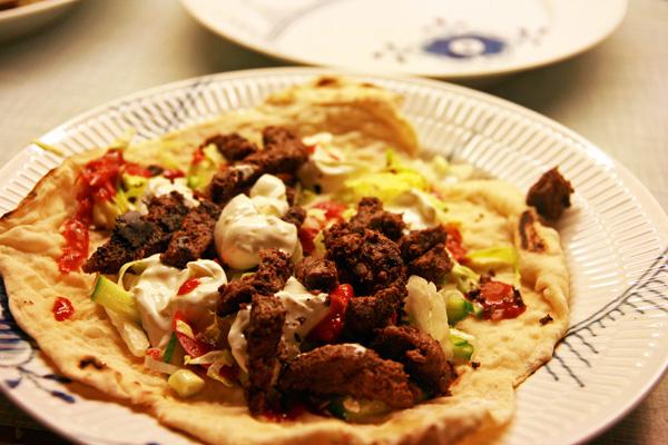 Opskrift på Shawarma