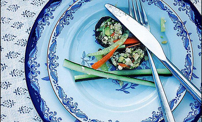 Vegansk Sushi
